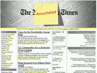 The Annotated New Tork Times