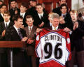 clinton joked with his buddies later that he wished he'd been president in 1969, so he could've scored a jersey with more innuendo