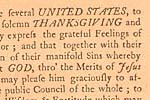 Congress set December 18, 1777, as a day of thanksgiving on which the American people 'may express the grateful feelings of their hearts and consecrate themselves to the service of their divine benefactor' and on which they might 'join the penitent confession of their manifold sins . . . that it may please God, through the merits of Jesus Christ, mercifully to forgive and blot them out of remembrance.' Congress also recommends that Americans petition God 'to prosper the means of religion for the promotion and enlargement of that kingdom which consisteth in righteousness, peace and joy in the Holy Ghost.'