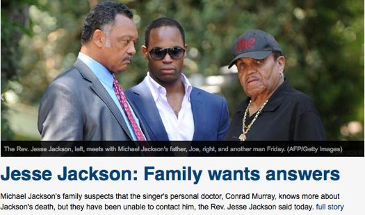Jesse Jackson and Family Want Answers