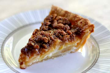 Sour Cream Applie Pie
